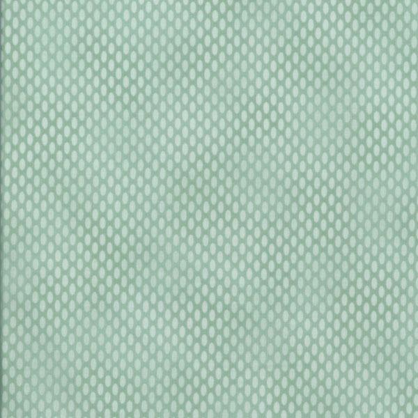 Märkverk   Tyger - Ljus mint ovala prickar a461118d8fe29