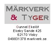 Märkverk & Tyger