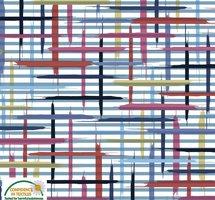 Offwhite botten multifärgat mönster
